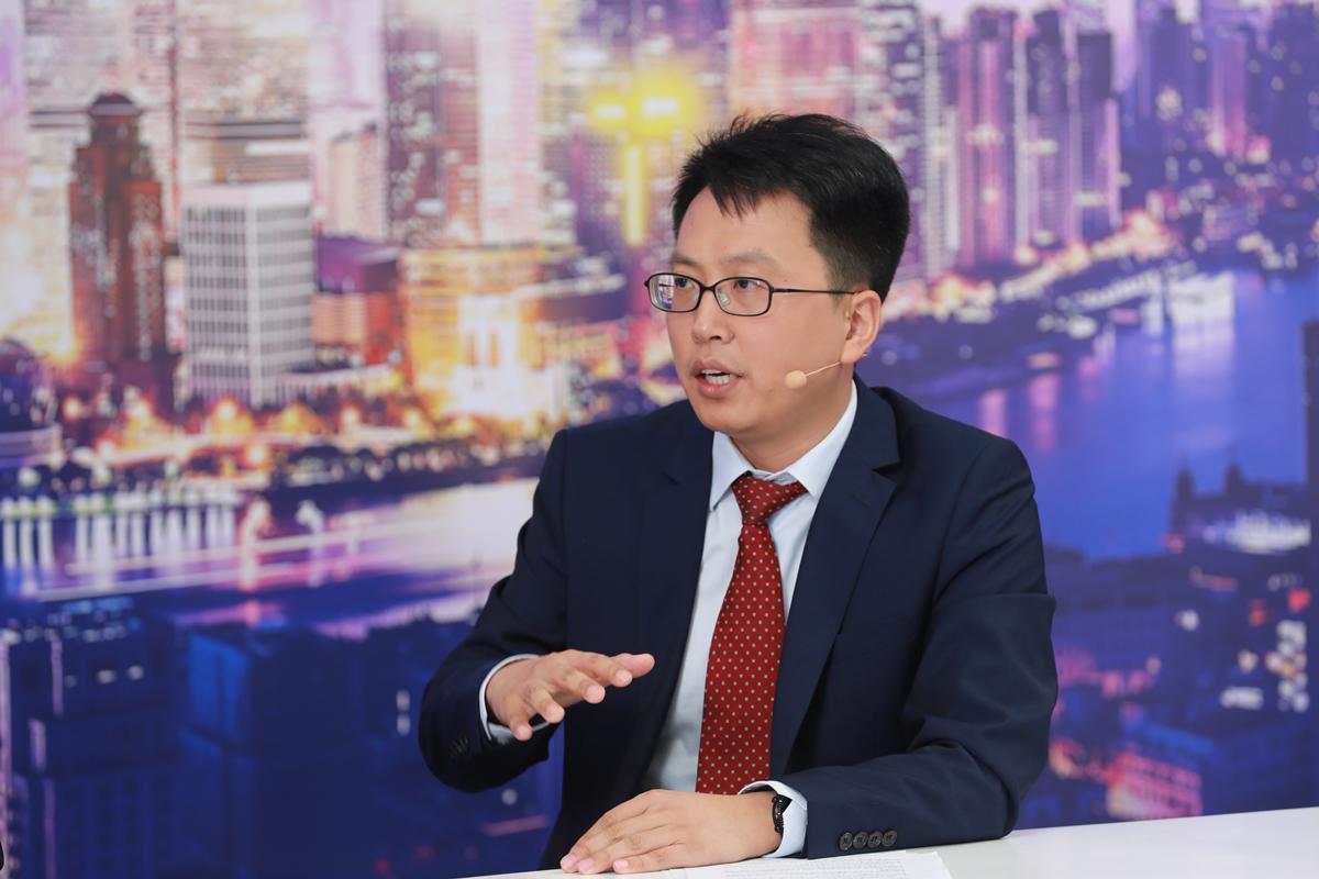世界人工智能大会 | 云扩科技CEO刘春刚做客《第一财经》